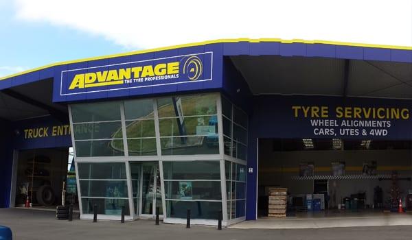 Advantage Tyres Hamilton store front