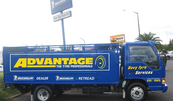 Advantage Tyres Henderson truck