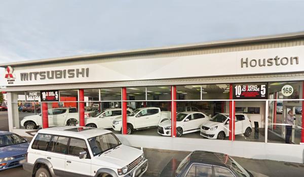 Houston Mitsubishi Nelson store front