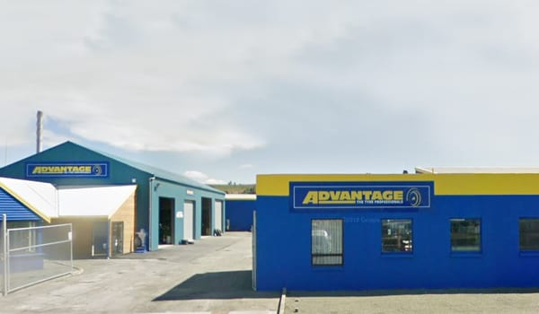 Advantage Tyres Oamaru store front