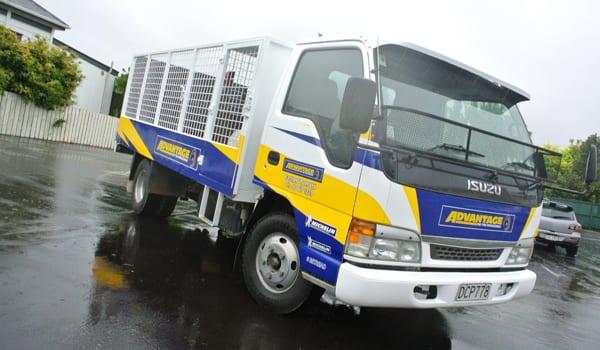 Advantage Tyres Gisborne truck