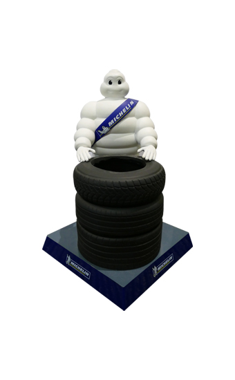 Michelin Pen Holder
