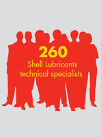 260 Shell Lubricants technical specialists